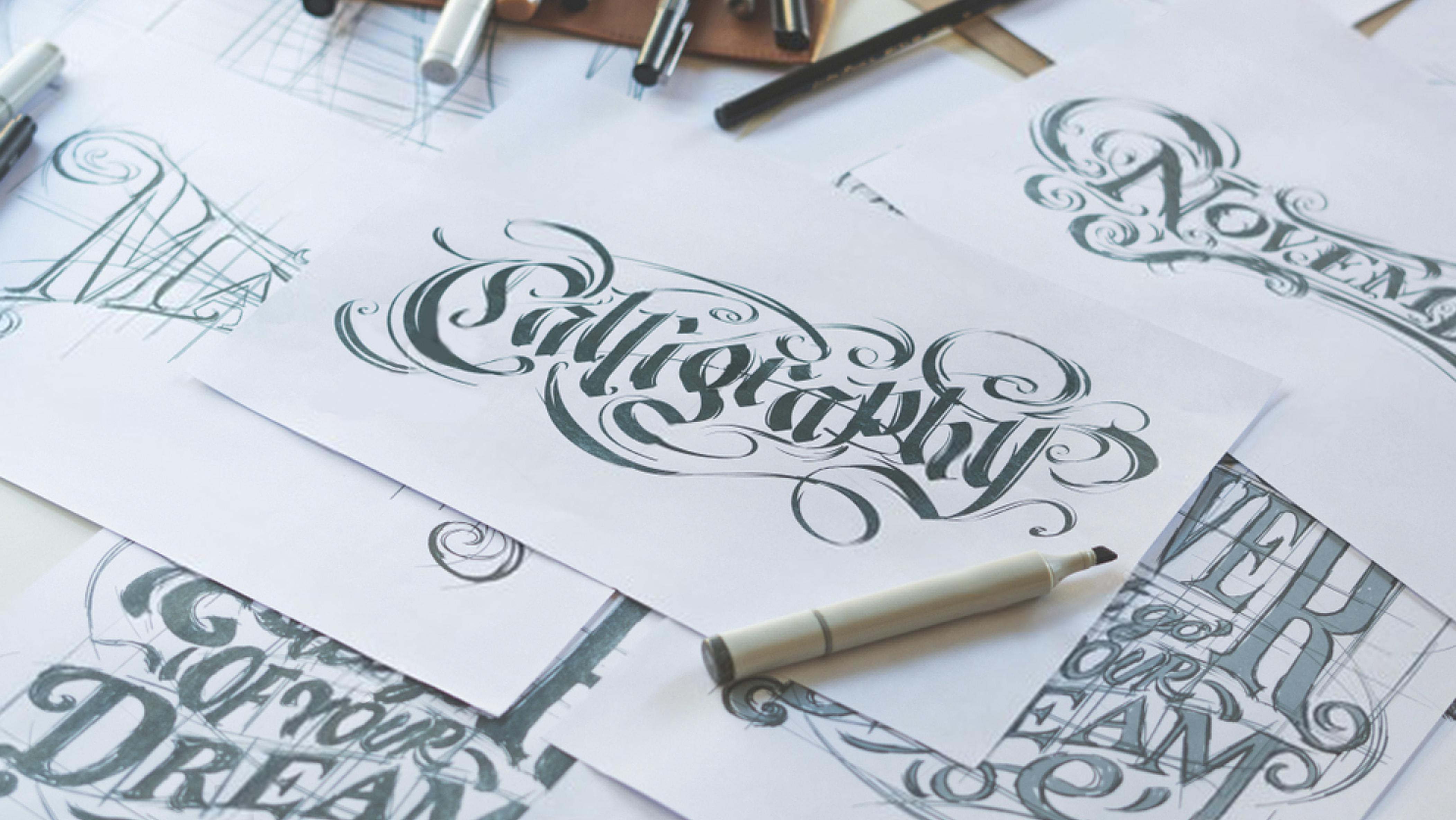 Lær å skrive med kalligrafi