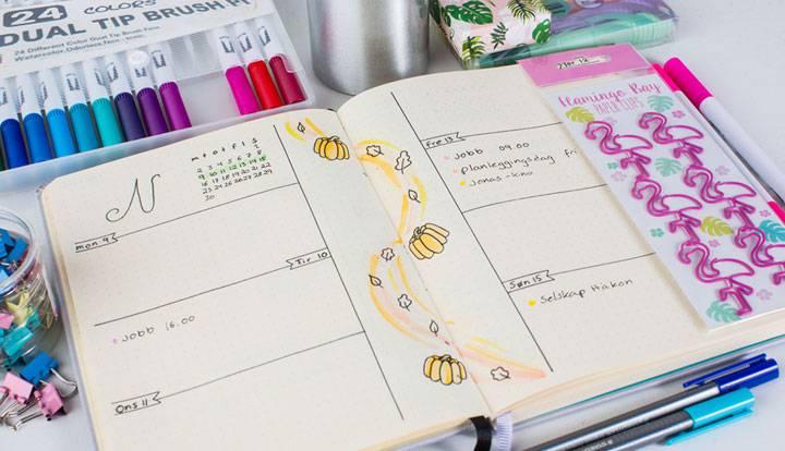 🖋Bullet journal kalender