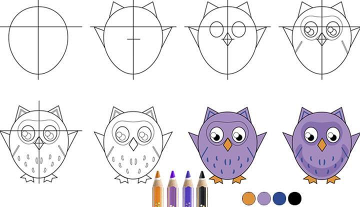 💕Lær å tegne morsomme dyr!