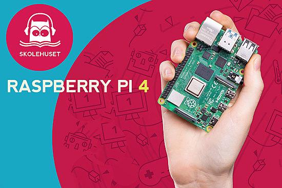 Raspberry Pi 4 og tilbehør