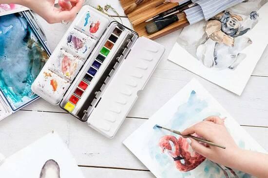 Gaveideer til de som elsker å male