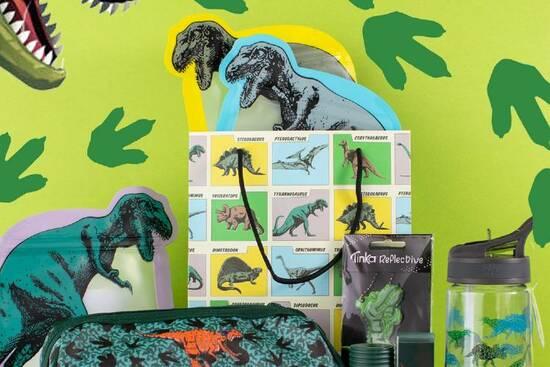 Dinosaur gavehjørnet
