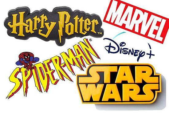 Skoleutstyr fra film- og gamingverden