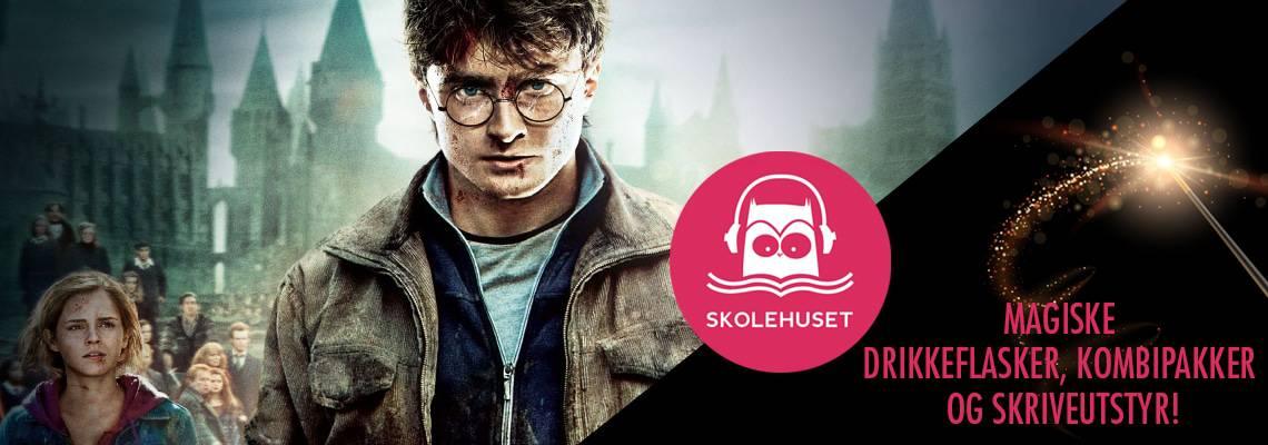 Velkommen til Harry Potter sin magiske verden!