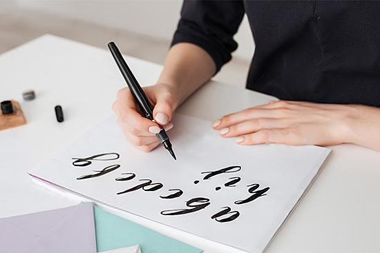 Kalligrafi og typografi