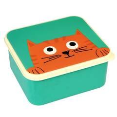 Rex London Matboks ‑ Grønn med katten Chester