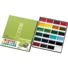 ZIG Gansai Tambi Kuretake Akvarellmaling ‑ 24 farger