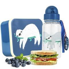 Rex London kombinasjonspakke matboks og drikkeflaske ‑ Dovendyr