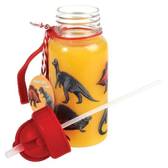 Rex London Drikkeflaske ‑ Dinosaurenes Verden 500ml       fra Skolehuset.no
