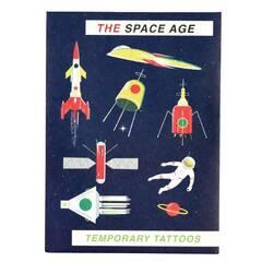 Rex London Temporary Tattoos ‑ Verdensrommet