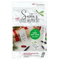 Tombow Santa's Little Helper ‑ Pakkelappsett med merkelapper, penner mm.