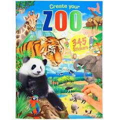 Depeche Aktivitetshefte med klistremerker ‑ Lag din egen Zoo