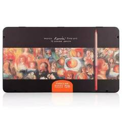 Marco Renoir Fine Art - 72 Fargeblyanter i metallskrin