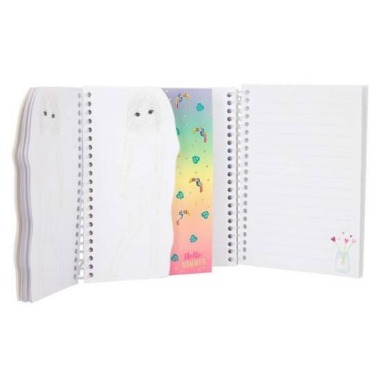 TOPModel Liten design‑ og notatbok ‑ Hayden   fra Skolehuset.no