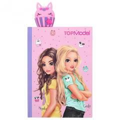 TOPModel Rosa notatbok til alle dine hemmeligheter ‑ Candy og Hayden