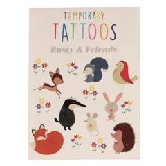 Rex London Temporary Tattoos ‑ Rusty og venner