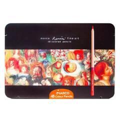 Marco Renoir Fine Art - 48 Fargeblyanter i metallskrin