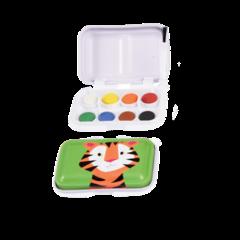Rex London Ville Dyr Miniatyr Malerskrin ‑ Tiger