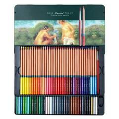 Marco Renoir Fine Art - 72 Akvarell fargeblyanter i metallskrin
