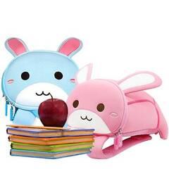 Nohoo Barnehagesekk Kombinasjonspakke ‑ To søte kaniner