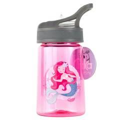 Tinka drikkeflaske ‑ Rosa med havfrue 350ml