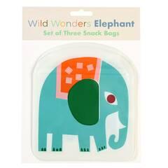 Rex London Snacksposer ‑ Elefant 3 pakning