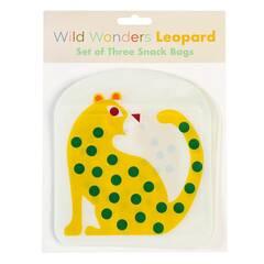 Rex London Snacksposer ‑ Leopard 3 pakning