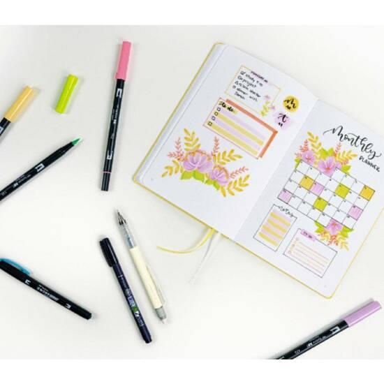 Tombow Journaling Kit ‑ Bright   fra Skolehuset.no