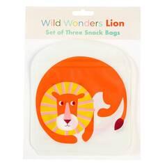 Rex London Snacksposer ‑ Løve 3 pakning