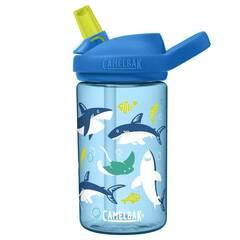 Camelbak Eddy+ drikkeflaske ‑ Blå med haier 400ml