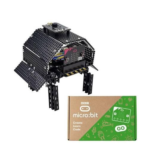 TOTEMTORTOISE Robotskilpadde og BBC Microbit V2 fra Skolehuset.no