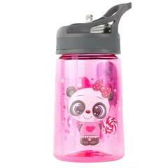 Tinka drikkeflaske ‑ Rosa med panda 350ml