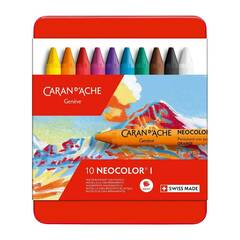 Caran d'Ache Neocolor I ‑ 10 farger