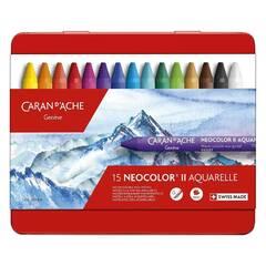 Caran d'Ache Neocolor II Akvarell ‑ 15 farger