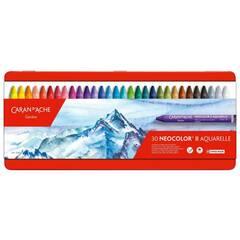 Caran d'Ache Neocolor II Akvarell ‑ 30 farger