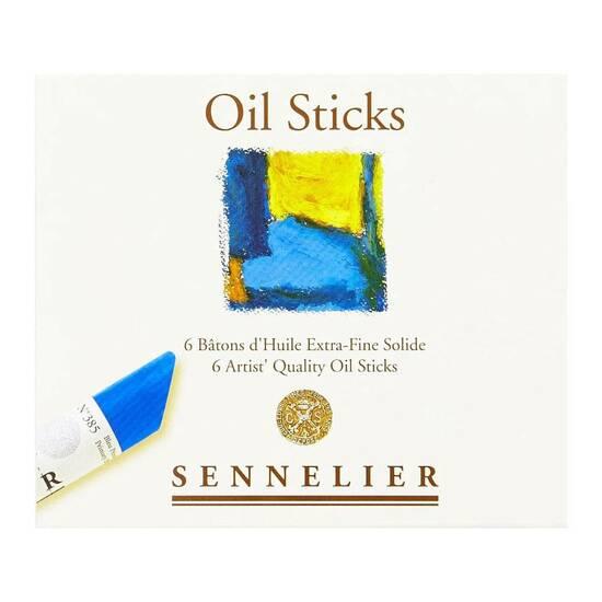 Sennelier Olje pasteller ‑ 6 farger  fra Skolehuset.no