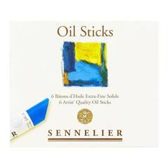 Sennelier Olje pasteller ‑ 6 farger
