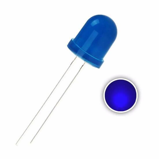 Blå LED lys ‑ Pakke med 40 stk. fra Skolehuset.no