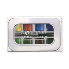 Sennelier l'Aqua-mini ‑ 8 farger med pensel