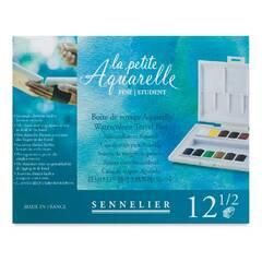 Sennelier la petite Aquarelle ‑ Akvarellmaling med 12 farger