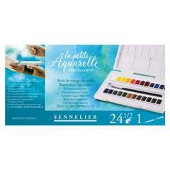 Sennelier la petite Aquarelle ‑ 24 farger