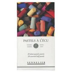 Sennelier Ekstra Soft Halve Pasteller ‑ 20 farger