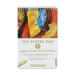 Sennelier Oil Pastel Pad ‑ 340g 12 ark 16x24cm