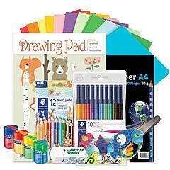 Tegning Startpakke Barn - 1-3. klasse