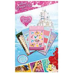 Disney ‑ Prinsesse klistremerker - 10 ark med 800 klistremerker