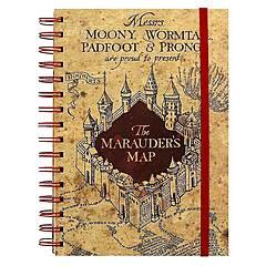Harry Potter ‑ The Marauders Map Notatbok - A5 Premium