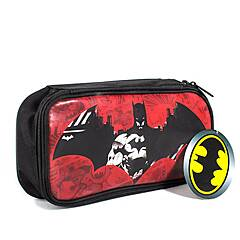 Batman ‑ Stilig enkelt pennal rødt