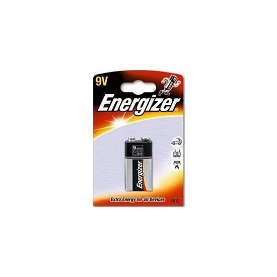 Energizer 9V‑Block Alkaline batteri ‑ Pakke med 1 stk. fra Skolehuset.no
