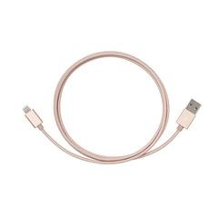 iPhonekabel til lading og synkronisering, 1,2 meter, Rose Gold