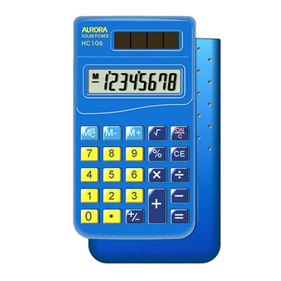 Aurora HC106 - Kalkulator for grunnskolen fra Skolehuset.no
